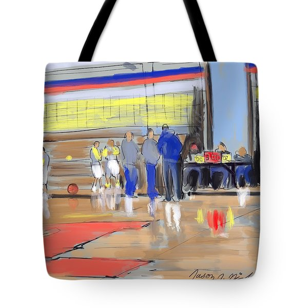 Court Side Conference Tote Bag