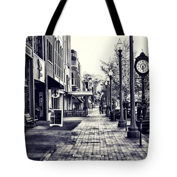 Court Street Clock Florence Alabama Tote Bag