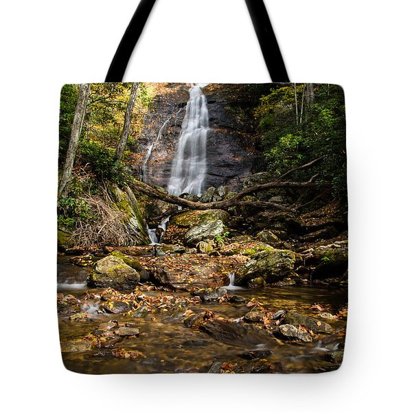 Tote Bag featuring the photograph Courthouse Falls by Claire Turner