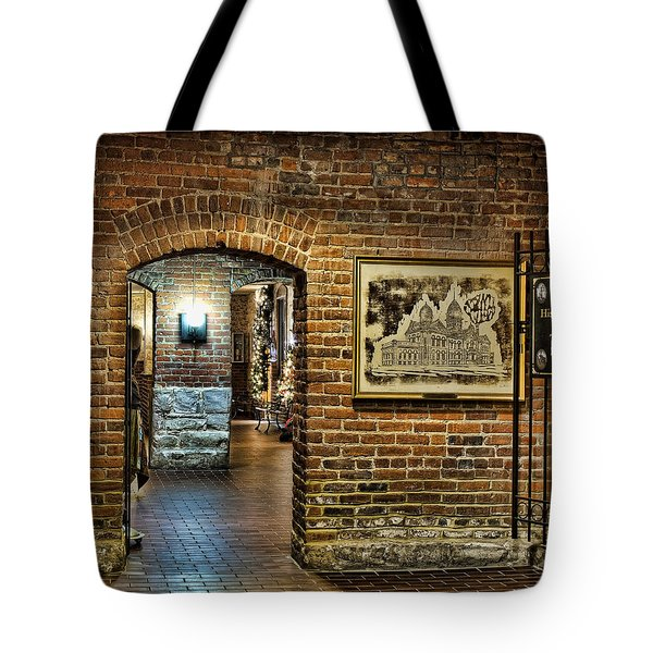 Courthouse Shops Tote Bag