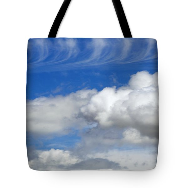 Courting Clouds Tote Bag by Gwyn Newcombe