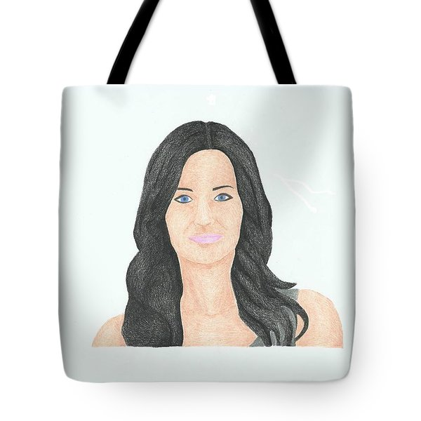 Courtney Cox Tote Bag
