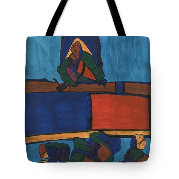 Courtroom  Tote Bag
