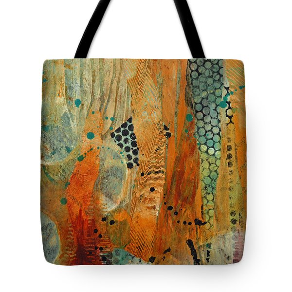 Tote Bag featuring the painting Courtship 1 by Kate Word