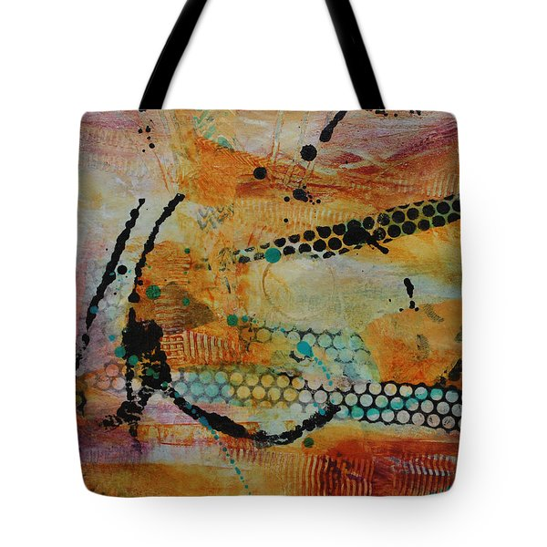Tote Bag featuring the painting Courtship 3 by Kate Word