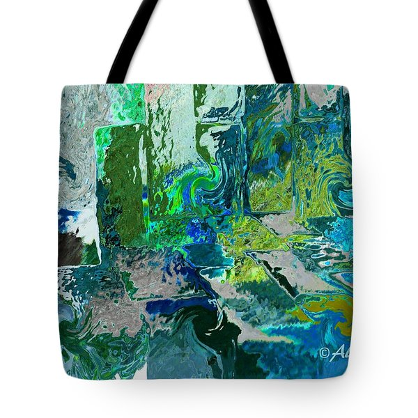 Courtyard Tote Bag by Alika Kumar