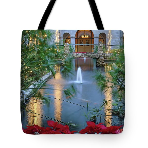Courtyard Garden Tote Bag