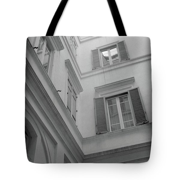 Courtyard In Rome Tote Bag