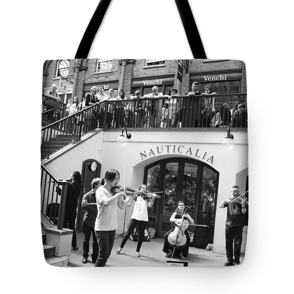 Covent Garden Music Tote Bag