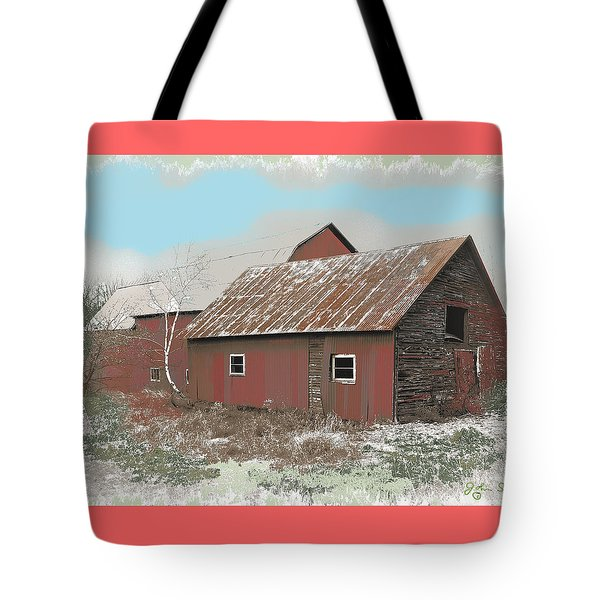 Coventry Barn Tote Bag