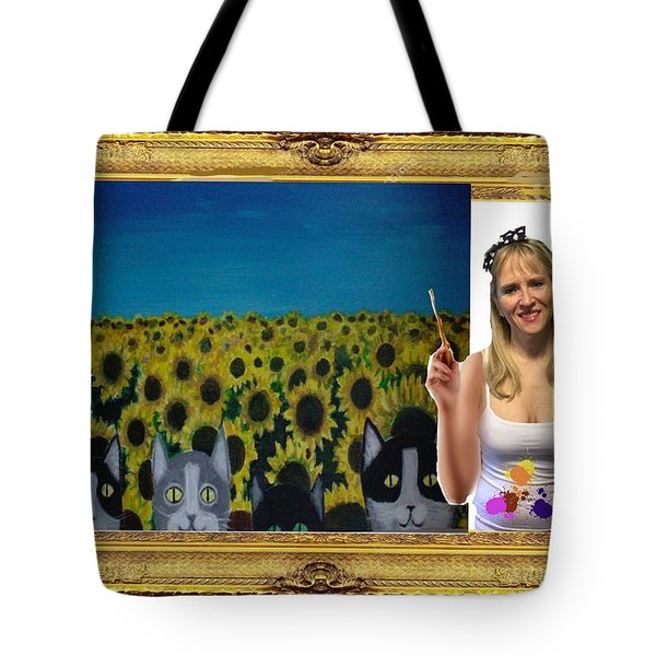 Cover Art For Gallery Tote Bag by Diana Riukas