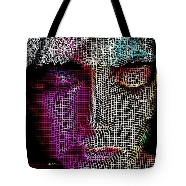 Tote Bag featuring the digital art Cover Up by Rafael Salazar