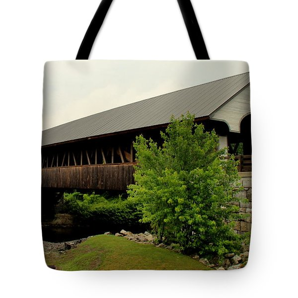Covered  Bridge 2  Tote Bag
