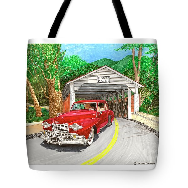 Covered Bridge Lincoln Tote Bag by Jack Pumphrey