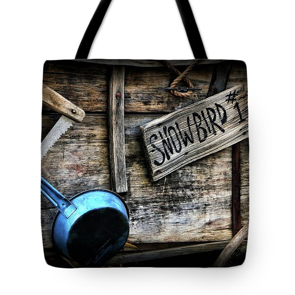 Covered Wagon Tote Bag