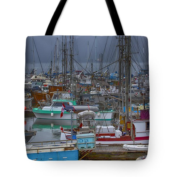Cow Bay Commercial Fishing Boats Tote Bag