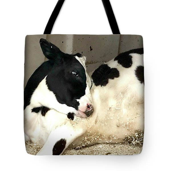 Cow Cutie Tote Bag