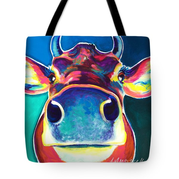 Cow - Fawn Tote Bag