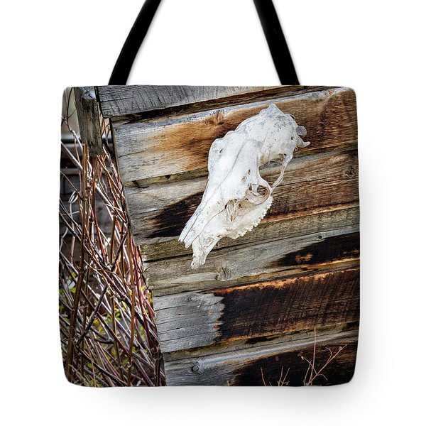 Cowboy Cabin Adornment Tote Bag