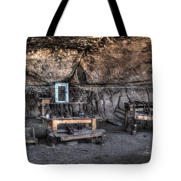 Cowboy Camp 1880s Tote Bag