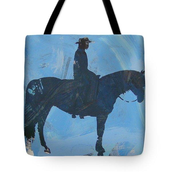 Cowboy Cormac Tote Bag