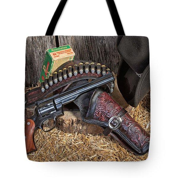 Cowboy Gunbelt Tote Bag