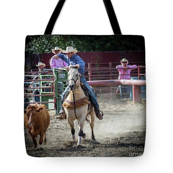 Cowboy In Action#2 Tote Bag