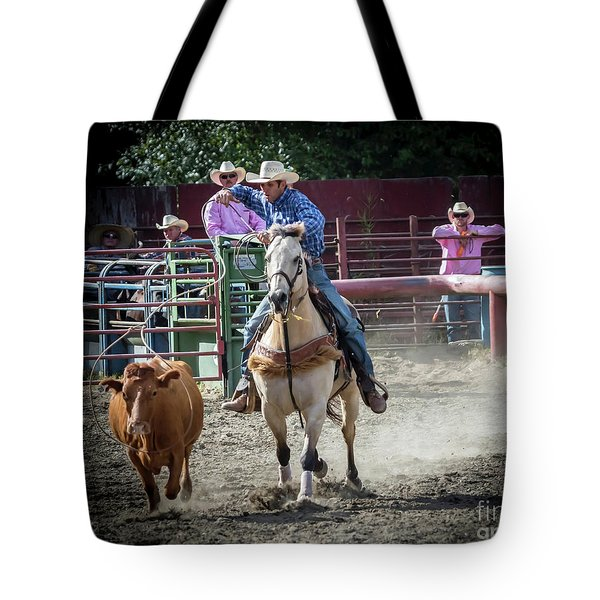 Cowboy In Action#2 Tote Bag
