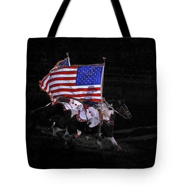 Cowboy Patriots Tote Bag by Ron White