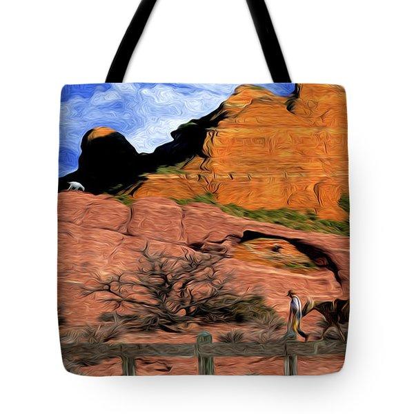 Cowboy Sedona Ver 4 Tote Bag