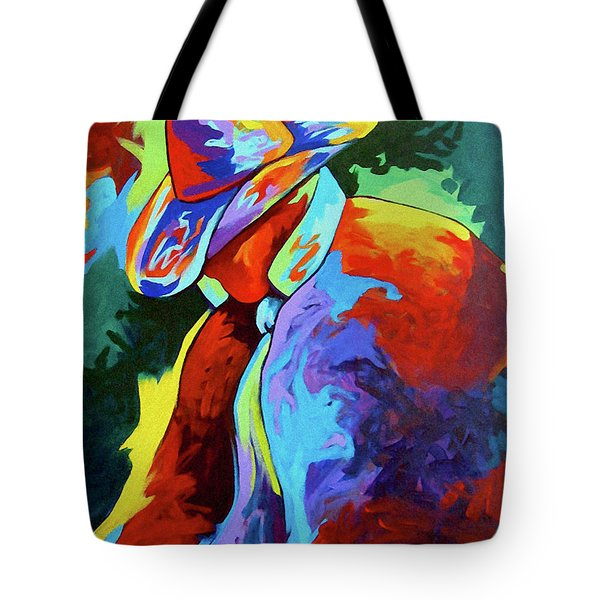 Cowboy Who Tote Bag by Lance Headlee