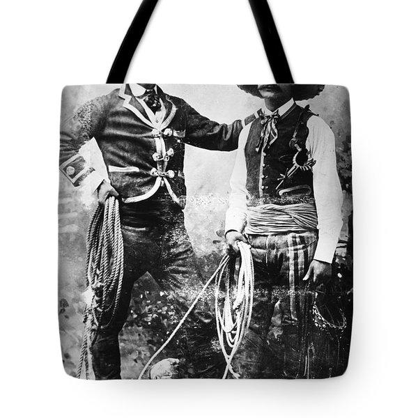 Cowboys, C1900 Tote Bag