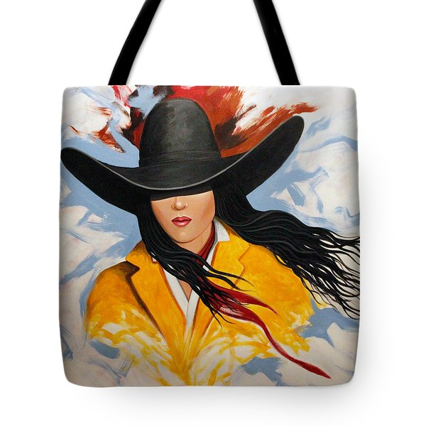 Cowgirl Colors #3 Tote Bag