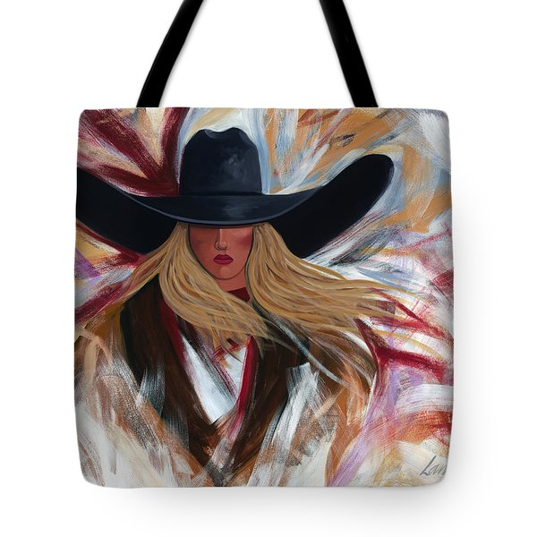 Cowgirl Colors Tote Bag by Lance Headlee