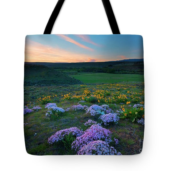 Cowiche Sunset Tote Bag
