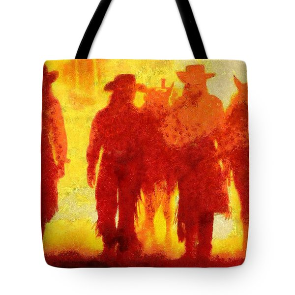 Cowpeople Tote Bag