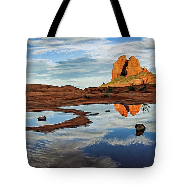 Cowpie 07-016p Tote Bag by Scott McAllister