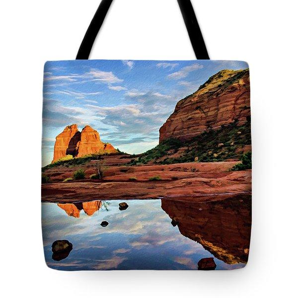 Cowpie 07-081 Tote Bag by Scott McAllister