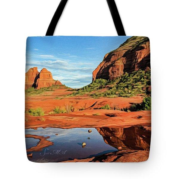Cowpie 07-101 Tote Bag by Scott McAllister