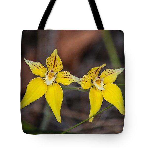 Cowslip Orchid Australia Tote Bag