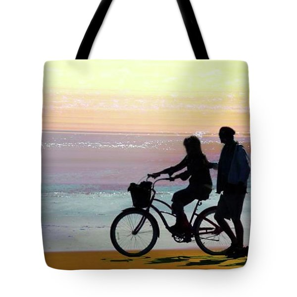 Cox Bay Bike Tote Bag