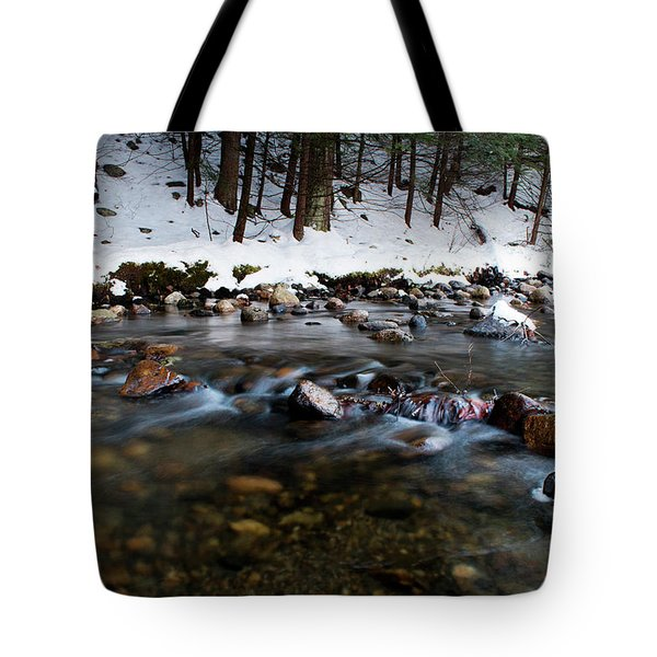 Coxing Kill In December #1 Tote Bag by Jeff Severson