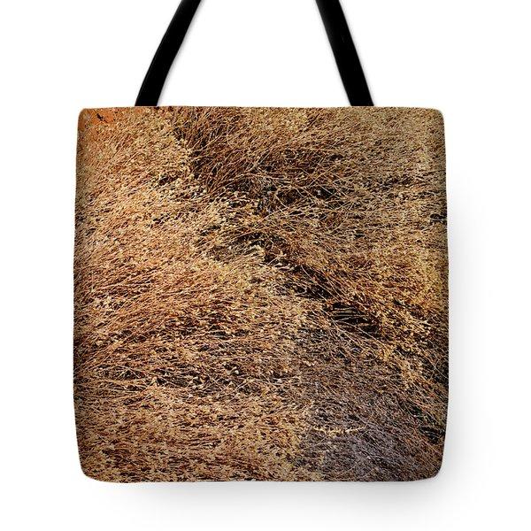 Coyote Brush Tote Bag
