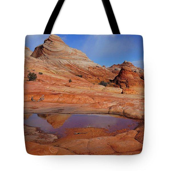 Coyote Butte Reflection Tote Bag
