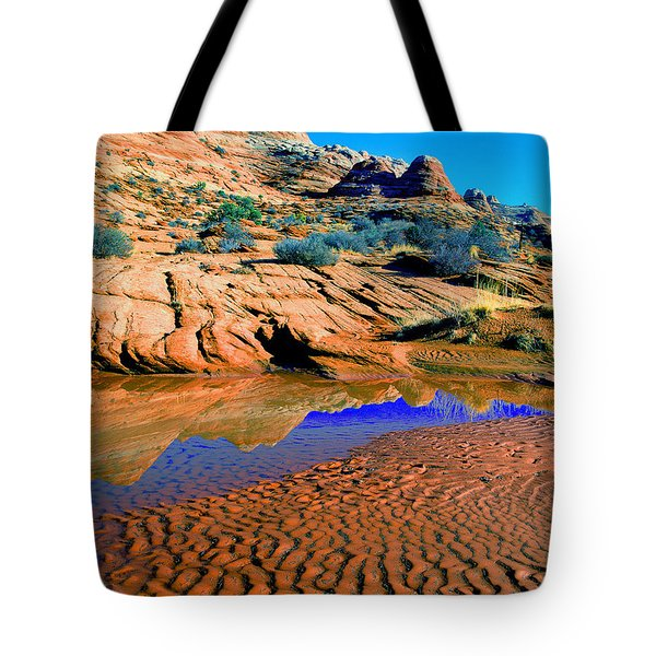 Coyote Buttes Reflection Tote Bag