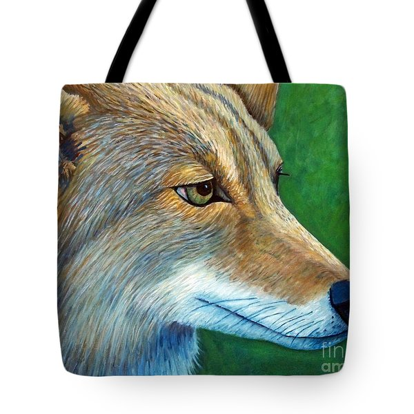 Coyote Logic Tote Bag by Brian  Commerford