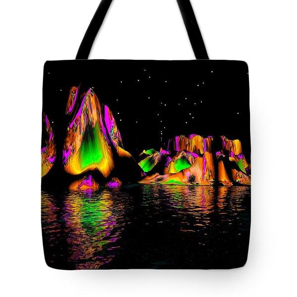 Coyote Moon Tote Bag by Robert Orinski