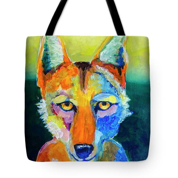 Coyote Tote Bag by Rick Mosher
