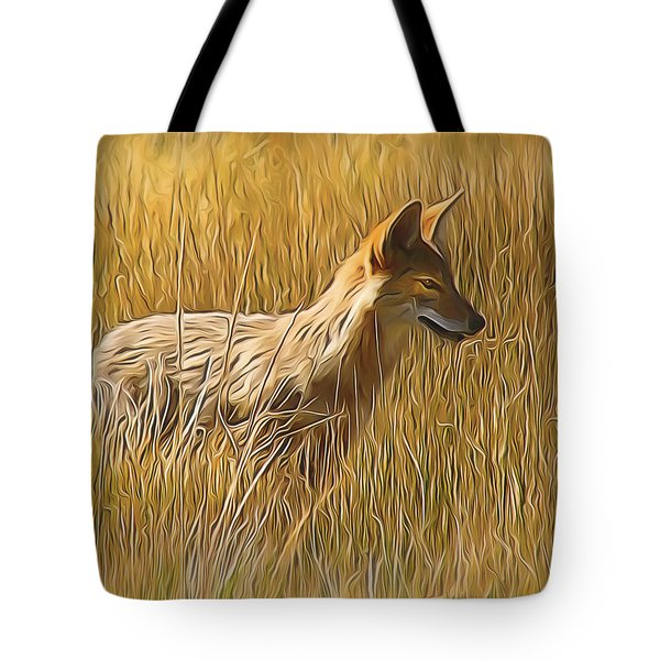 Coyote Sunshine Tote Bag