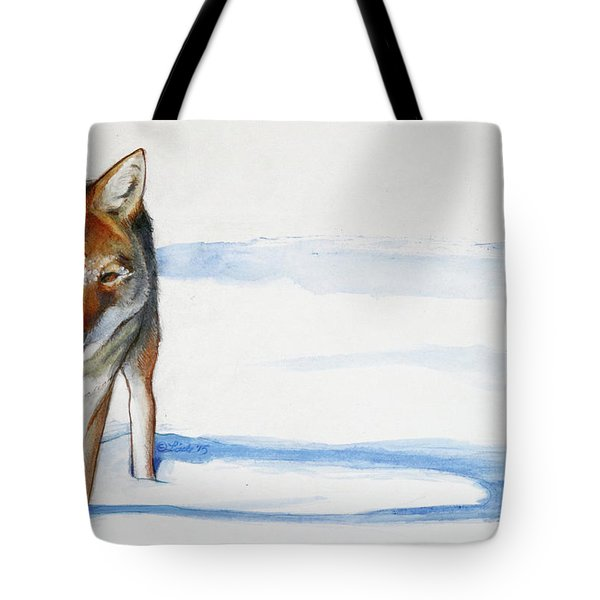 Coyote Trot Tote Bag